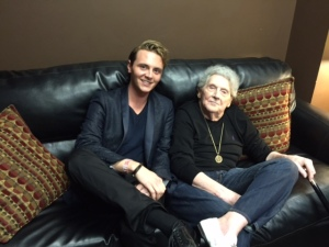 Jacob with Jerry Lee Lewis