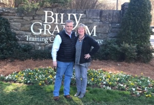 Me and Angie at the Billy Graham Training Center at the Cove.